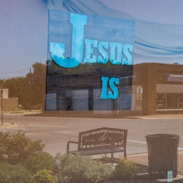 Jesus sign reflection