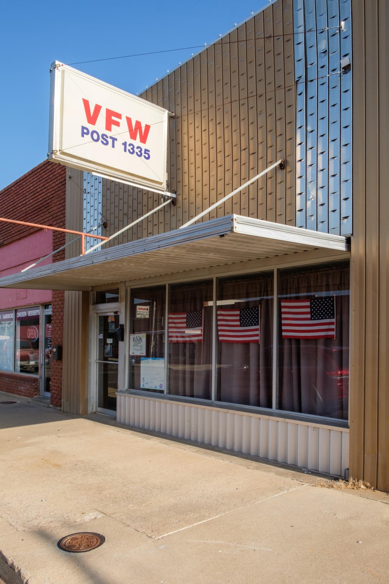 VFW Woodward Oklahoma