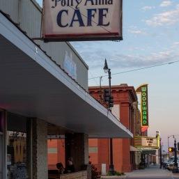 Polly Anna Cafe Woodward