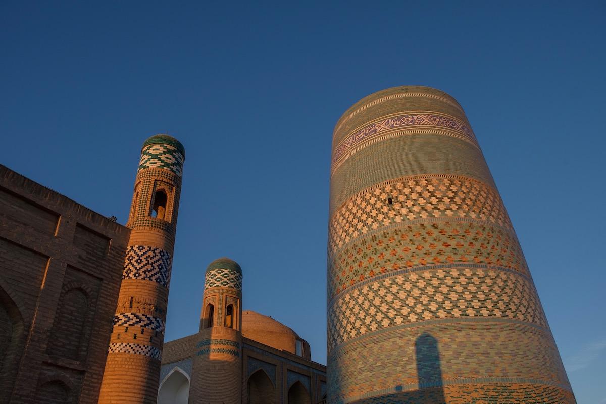 Khiva Uzbekistan Kalta Minor Mineret