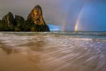 Railay Beach rainbow