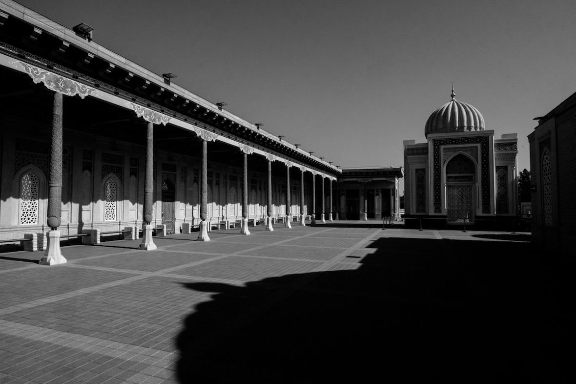 Samarqand black and white