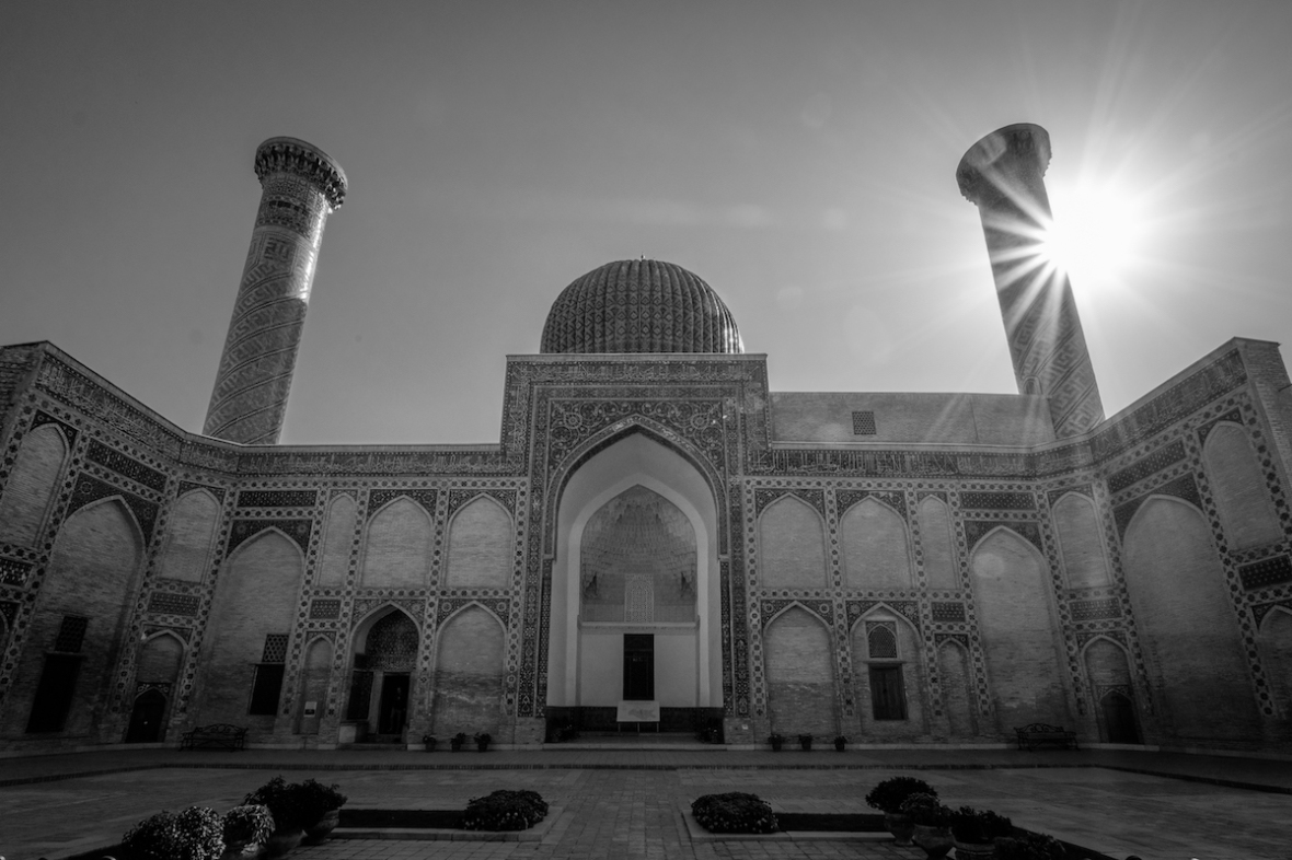 Samarqand in Black and White