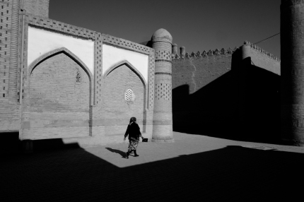 Khiva in Black and White