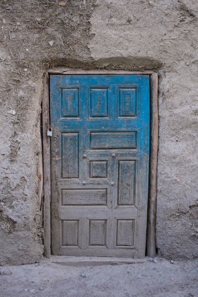 Bukhara blue door