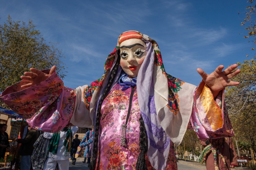 Puppet in Khiva
