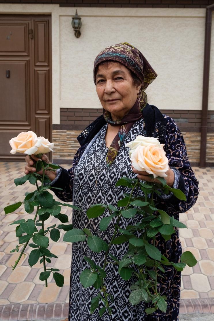 Tashkent street portrait