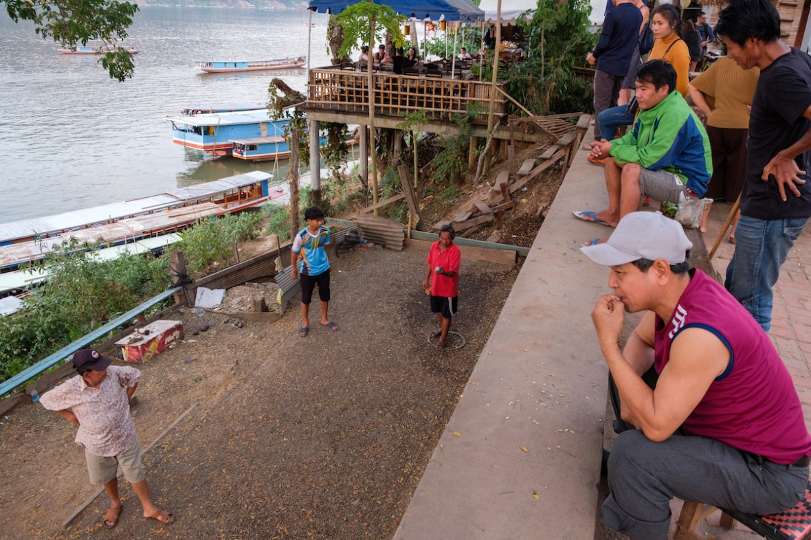 Bocce on the Mekong