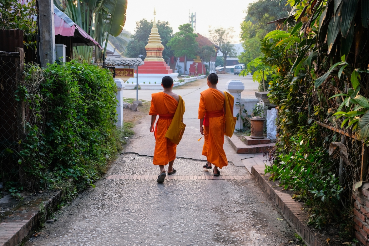 Luang Prabang street photography